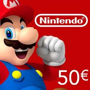 Comprar Tarjeta Nintendo eShop 50 Euro Comparar Precios