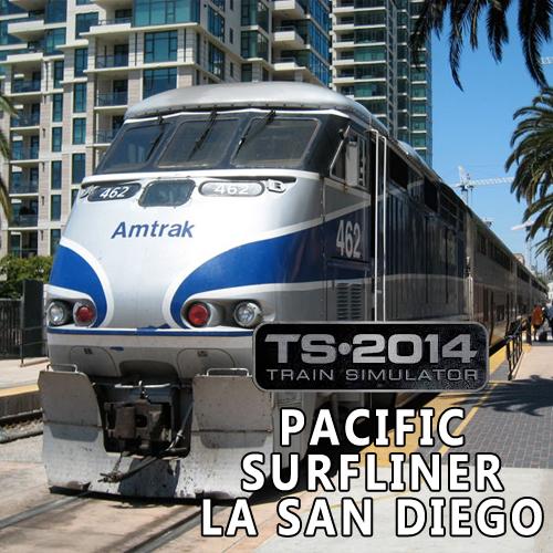 Comprar Train Simulator Pacific Surfliner LA San Diego CD Key Comparar Precios