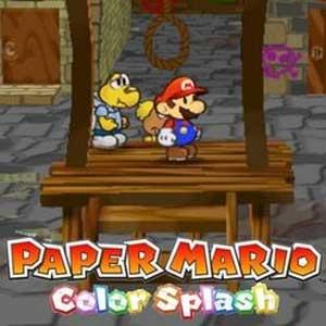 Comprar Paper Mario Color Splash Wii U Descargar Código Comparar precios