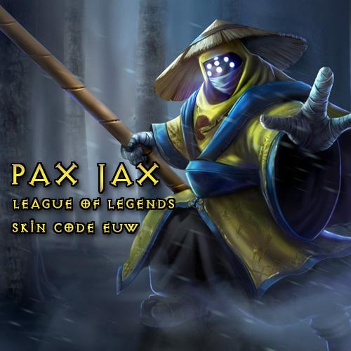 Comprar Pax Jax Skin League Of Legends EU West Tarjeta Prepago Comparar Precios