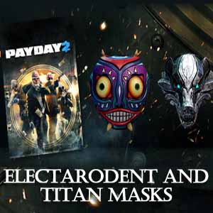 Comprar PAYDAY 2 Electarodent and Titan Masks CD Key Comparar Precios