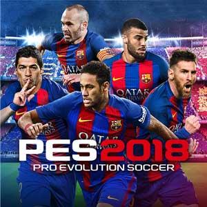 Comprar PES 2018 PS4 Code Comparar Precios