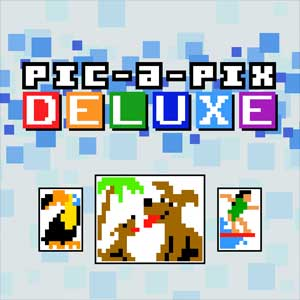 Pic-a-Pix Deluxe Mixed Puzzles 8