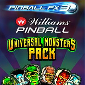Pinball FX3 Williams Pinball Universal Monsters Pack