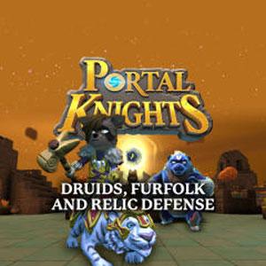 Portal Knights Druids, Furfolk, and Relic Defense