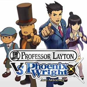 Comprar Professor Layton vs Phoenix Wright Ace Attorney Nintendo 3DS Descargar Código Comparar precios