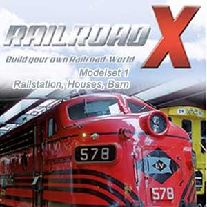 Comprar Railroad X Modelset 1 Railstation Houses Barn CD Key Comparar Precios