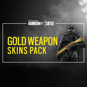 Comprar Rainbow Six Siege Gold Weapons Skin Pack CD Key Comparar Precios