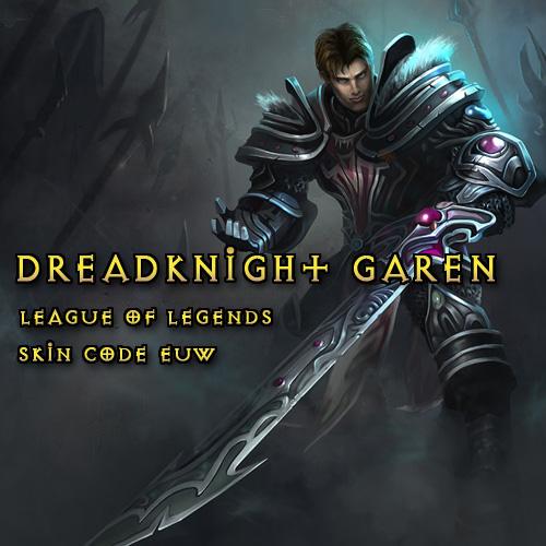 Comprar Riot Dreadknight Garen League Of Legends Skin EUW Tarjeta Prepago Comparar Precios