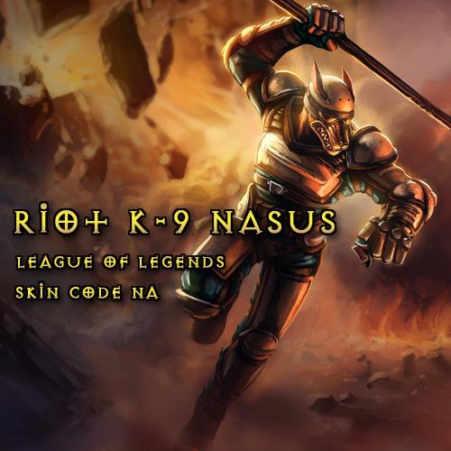 Comprar Riot K-9 Nasus League Of Legends Skin NA Tarjeta Prepago Comparar Precios