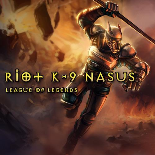 Comprar Riot K-9 Nasus League Of Legends Skins Tarjeta Prepago Comparar Precios