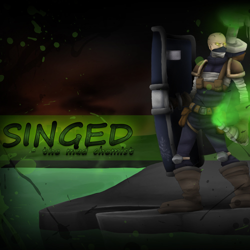Comprar Riot Squad Singed League Of Legends Skin Tarjeta Prepago Comparar Precios