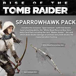 Comprar Rise of the Tomb Raider The Sparrowhawk Pack CD Key Comparar Precios