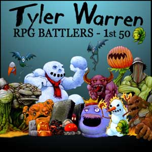 Comprar RPG Maker Tyler Warren First 50 Battler Pack CD Key Comparar Precios