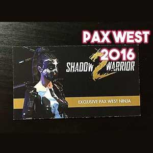 Comprar Shadow Warrior 2 Pax West Ninja CD Key Comparar Precios