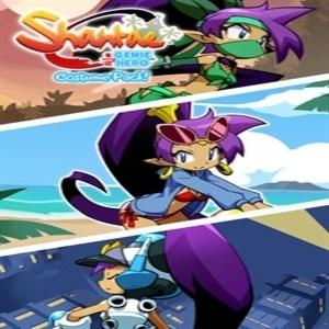 Shantae Costume Pack