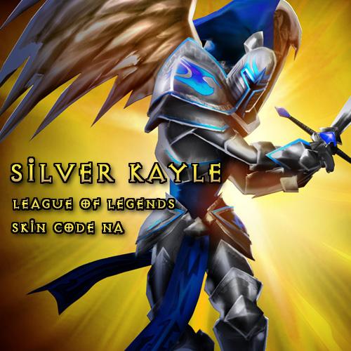 Comprar Silver Kayle League Of Legends Skin Code NA Tarjeta Prepago Comparar Precios