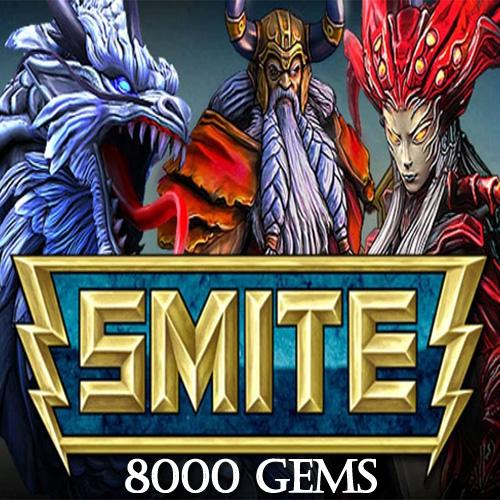 SMITE 8000 Gems