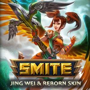 SMITE Jing Wei and Reborn Skin