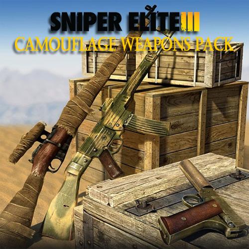 Comprar Sniper Elite 3 Camouflage Weapons Pack CD Key Comparar Precios
