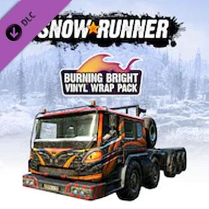 Comprar SnowRunner Burning Bright Vinyl Wrap Pack Xbox Series Barato Comparar Precios