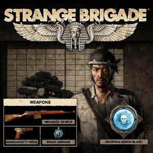 Strange Brigade Japanese Naval Officer Character Pack