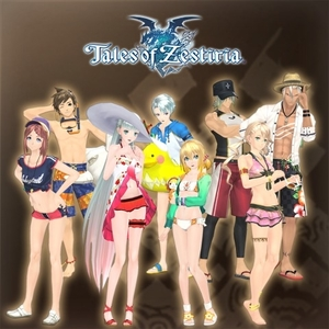 Tales of Zestiria Seaside Resort Costume Set