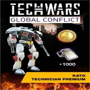 Techwars Global Conflict KATO Technician Premium and Prosperity Legacy Pack