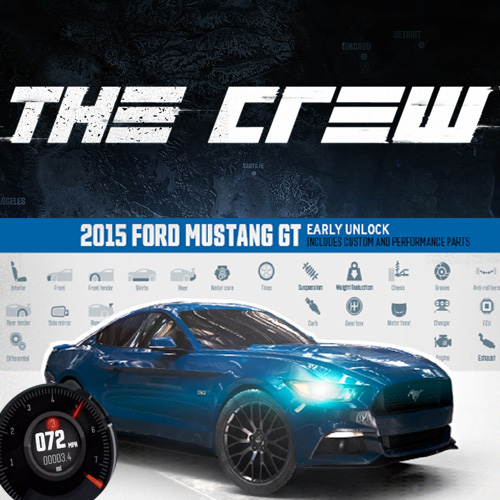 Comprar The Crew 2015 Ford Mustang GT Fastback Street Edition CD Key Comparar Precios