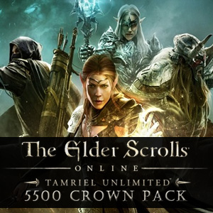 Comprar The Elder Scrolls Online Tamriel Unlimited 5500 Crown Pack CD Key Comparar Precios
