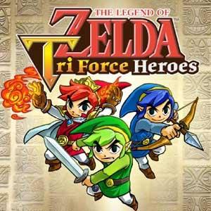 Comprar The Legend of Zelda Tri Force Heroes Nintendo 3DS Descargar Código Comparar precios