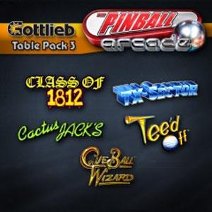 The Pinball Arcade Gottlieb Table Pack 3