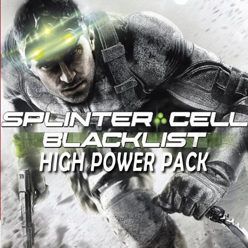 Comprar Tom Clancys Splinter Cell Blacklist High Power Pack CD Key Comparar Precios