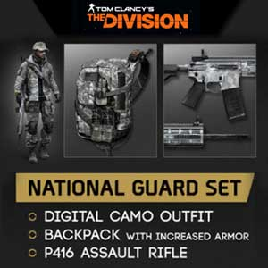 Comprar Tom Clancys The Division National Guard Gear Set CD Key Comparar Precios