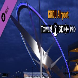 Tower 3D Pro KRDU airport