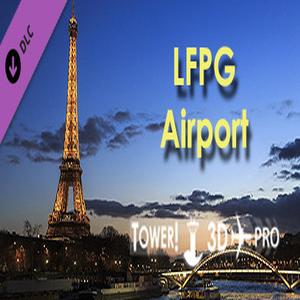 Tower 3D Pro LFPG airport
