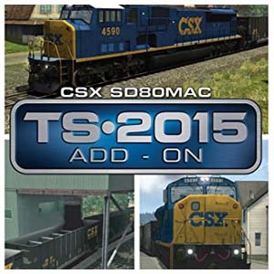 Comprar Train Simulator CSX SD80MAC Loco Add-On CD Key Comparar Precios