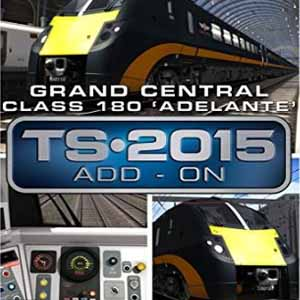Comprar Train Simulator Grand Central Class 180 Adelante DMU Add-On CD Key Comparar Precios