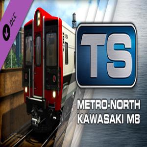 Train Simulator Metro North Kawasaki M8 EMU Add On