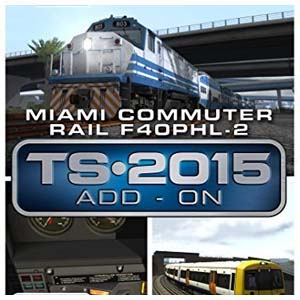 Comprar Train Simulator Miami Commuter Rail F40PHL-2 Loco Add-On CD Key Comparar Precios