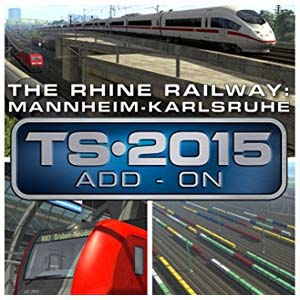 Comprar Train Simulator The Rhine Railway Mannheim Karlsruhe Route Add-On CD Key Comparar Precios