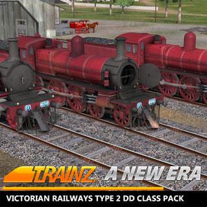 Trainz A New Era Victorian Railways Type 2 DD Class Pack