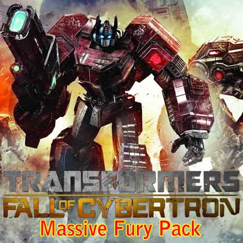 Comprar clave CD Transformers Fall of Cybertron Massive Fury Pack y comparar los precios