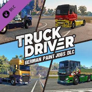 Truck Driver German Paint Jobs DLC