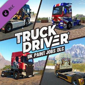 Truck Driver UK Paint Jobs DLC