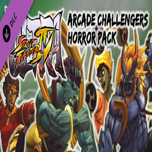 USF4  Arcade Challengers Horror Pack