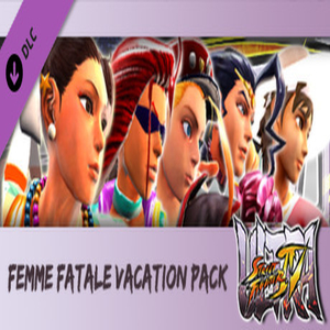 USF4  Femme Fatale Vacation Pack