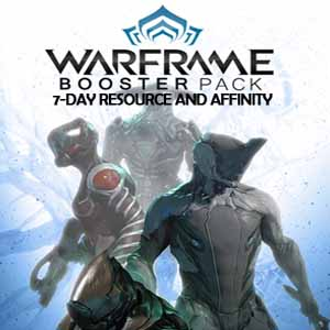 Warframe 7-day Resource and Affinity Booster Packs