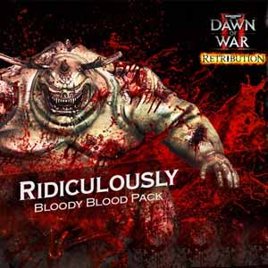 Warhammer 40000 Dawn of War 2 Retribution Ridiculously Bloody Blood Pack
