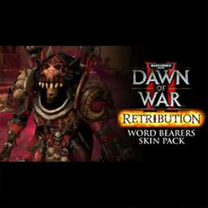 Comprar Warhammer 40K Dawn of War 2 Retribution Word Bearers Skin Pack CD Key Comparar Precios